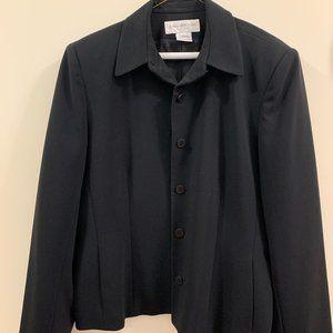 Jones New York Black Blazer / Suit Jacket